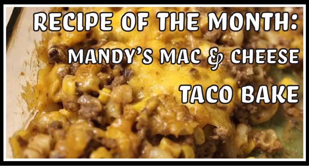 Mac and Cheese Taco Bake